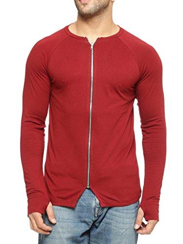 Gritstones-Round-Neck-Full-Sleeve-Zipper-Jacket-GSFSJKT1309MRN