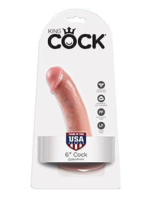 King Cock 15.2 cm Flesh Dildo