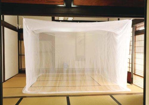 夏の虫除けに!「吊下げ用蚊帳」8畳サイズ
