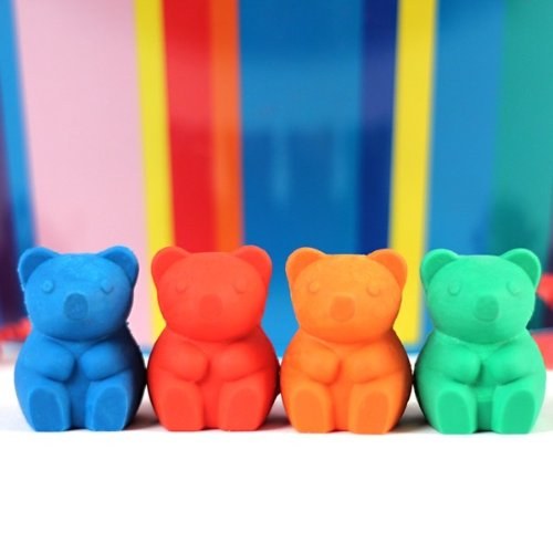 Dylan's Candy Bar Scented Gummy Bear Eraser Set