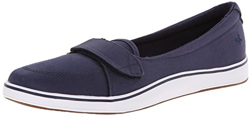 Grasshoppers Women's Shelborne Slip-On Flat, Navy, 10 W US (Grasshoppers Shoes compare prices)