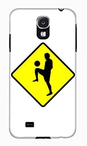 The Fappy Store soccer-player Hard Plastic Back Case Cover For Samsung Galaxy S4