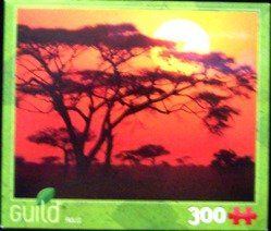 Sunset 300 Piece Puzzle by Guild