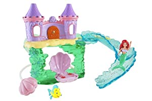 Amazon.com: Disney Princess Ariel Bath Castle: Toys & Games