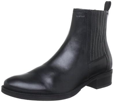 (大促)会呼吸的鞋 意大利Geox 健乐士 女士时尚真皮踝靴 2色 Wmendiboot32 $94.5