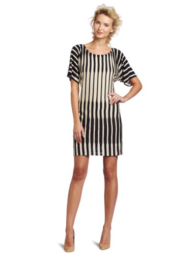 Ali Ro Women's Boat Neck Striped Knit Dress
