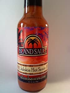 """More Flavor than All Others ! """"Islandsauces.com"""", Jolokia """"Ghost Pepper"""" Hot Sauce, 5 Oz"""