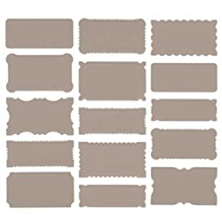 Martha Stewart Crafts Labels, Cherish Grey