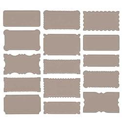 Martha Stewart Crafts Labels, Cherish Grey