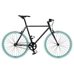Retrospec Beta Fixie Single Speed Fixed Gear Bicycle