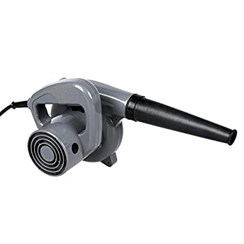 Cosway 500W Powerful Electric Handheld Dust Leaf Blower /Vacuum Cleaner for Shop Garage Garden, Vehicle Dryer (Grey)