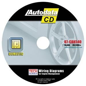 Engine Management System Wiring Diagram CD Domestic 2007 (ADT07-CDX540) Category: Auto Repair Manuals