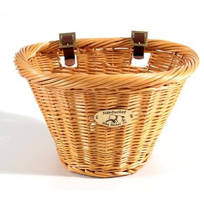 Nantucket Youngs D-Shaped Front Handlebar Bike Basket