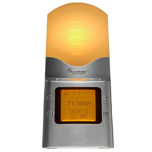 Sunrise System UK Model (SRS200UK) Sunrise Natural Alarm Clock to reduce SAD Symptoms With built in lamp
