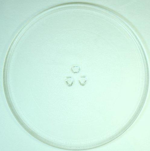 Mikrowellenteller / Drehteller / Glasteller für Mikrowelle # ersetzt Gaggenau Mikrowellenteller # Durchmesser Ø 32,4 cm / 324 mm # Ersatzteller # Ersatzteil für die Mikrowelle # Ersatz-Drehteller # OHNE Drehring # OHNE Drehkreuz # OHNE Mitnehmer