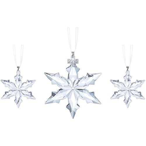 Swarovski Christmas Tree Decoration Set : Swarovski annual edition christmas star ornament set