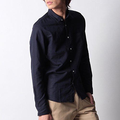 (ボイコット)BOYCOTT 綿麻バックダーツシャツ ネイビー(093) 03(L)