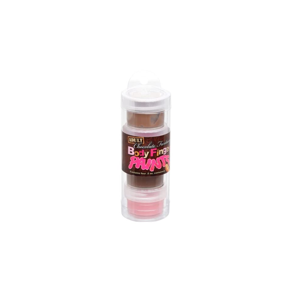 Chocolate Body Paint Pack Of 4 Tube On Popscreen