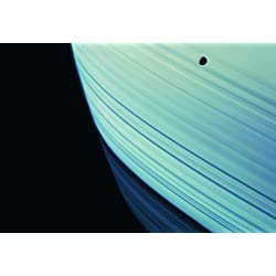 土星と衛星ミマス