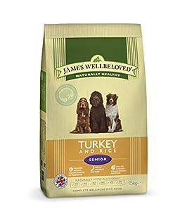 James Wellbeloved Senior Turkey and Rice Kibble 15 kg