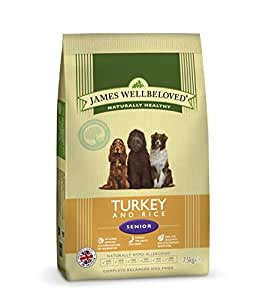 James Wellbeloved Senior Turkey and Rice Kibble 15 kg