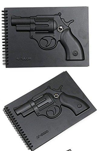 1 Piece of Gun Armed Notebooks Notepad
