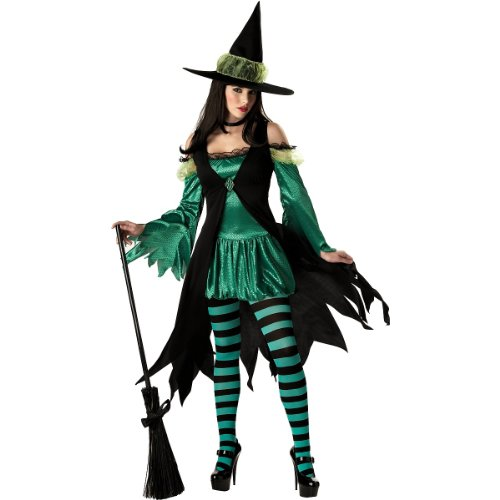 Emerald Witch Costume - Small - Dress Size 6-8