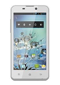 "BQ Aquaris 4.5 - Smartphone libre Android (pantalla 4.5"", cámara 8 Mp, 4 GB, Dual-Core 1 GHz, 1 GB RAM), blanco - Kit con tarjeta microSD de 8 GB"