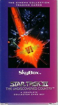"Star Trek VI ""THE UNDISCOVERED COUNTRY"" SKYBOX Cinema Collection Trading Cards - A Complete Collector Card Set"