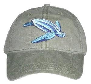 Leatherback Sea Turtle Embroidered Cotton Cap