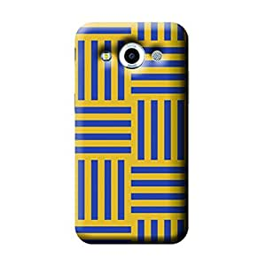 Garmor African Pattern Design Plastic Backcover for Samsung Galaxy Core Max- (African 4)