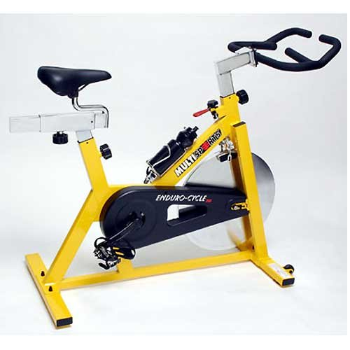Multisports Fitness Endurocycles Commercial 420 Spin Indoor Trainer Exercise Bike in Yellow