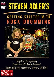 Steven Adler's Getting Started With Rock Drumming [DVD] [Region 1] [US Import] [NTSC]