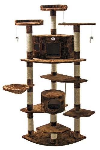 Go Pet Club Cat Tree F2031 Go Pet Club B0091OOKXY