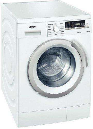 Siemens iQ700 WM16S443 Waschmaschine Frontlader / A+++ / 1600 UpM / 8 kg / weiß / super15 / Outdoor Programm / EcoPlus