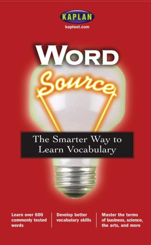Word Source: The Smarter Way To Learn Vocabulary (Kaplan Word Source) front-440038