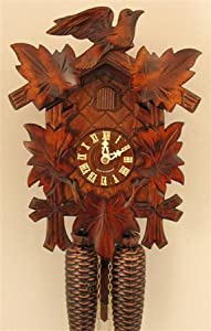 Sternreiter - German Hand Carved Cuckoo Clock with Eight-day Movement by Sternreiter