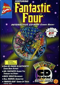 Fantastic Four Interactive Comic Book (PC/MAC)