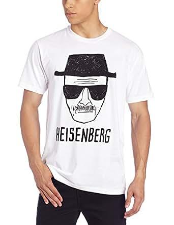 Breaking Bad Heisenberg Sketch Homme Lightweight Blanc T-Shirt | S