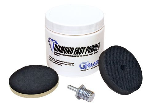 Glass Polishing Kit Pro Scratch Removal Repair