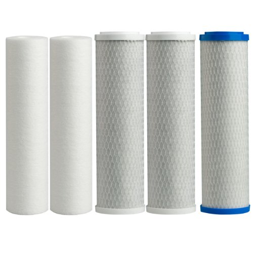 Watts-Premier-500124-WP-4V-Replacement-Filter-Pack-for-Reverse-Osmosis-System