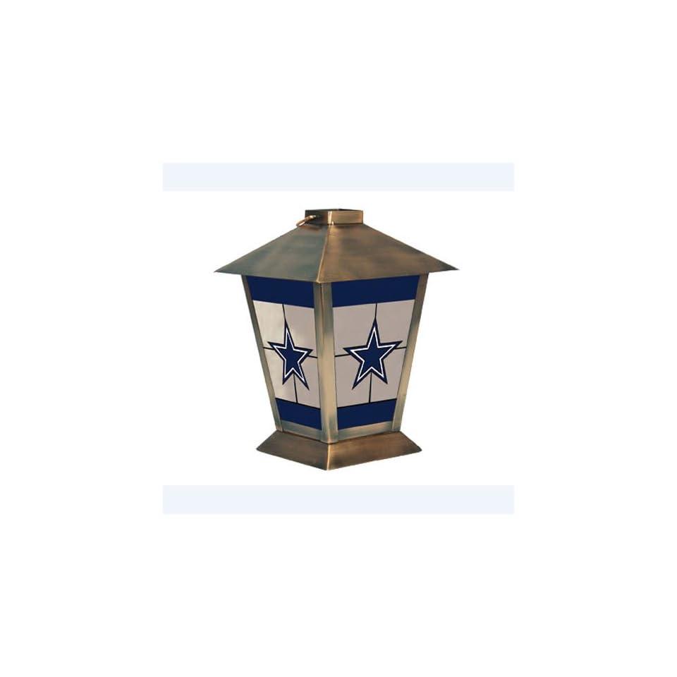 Dallas Cowboys NFL Glass & Metal Candle Lantern (11)