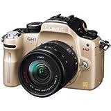 Panasonic デジタル一眼カメラ GH1 レンズキット コンフォートゴールド DMC-GH1A-N