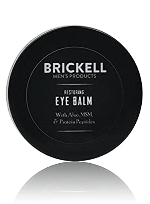 Best Cheap Deal for Brickell Men's Restoring Eye Balm for Men - .5 oz - Natural & Organic from Brickell Men's Products - Free 2 Day Shipping Available