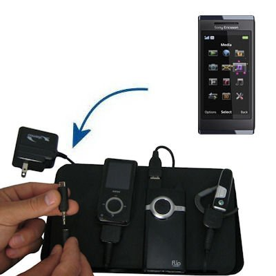 Unique Gomadic 4-Port Charging Station for the Sony Ericsson Aino - Charge four devices with TipExchange Technology