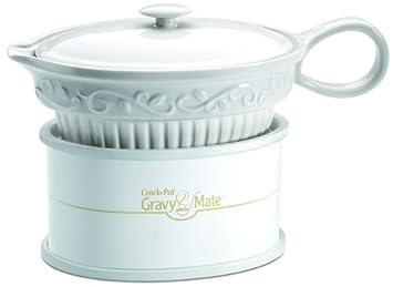 Rival Stoneware Electric Gravy Sauce Warmer