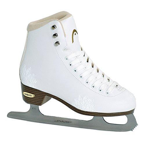 Cabeza de patinaje sobre hielo para mujer figura de ámbar