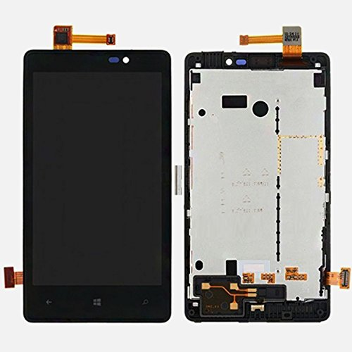 Nokia Lumia 820 Lcd Display + Digitizer Black Giostock