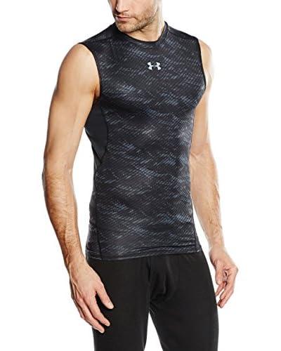 Under Armour Camiseta Técnica Armour Hg Sl T Novelty Negro