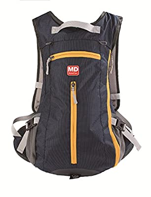 Mountain Biking Backpack, MALEDEN Water Resistant Lightweigt Back Pack Skiing Hiking Cycling Backpack Travel Daypack 15L for Women and Men
